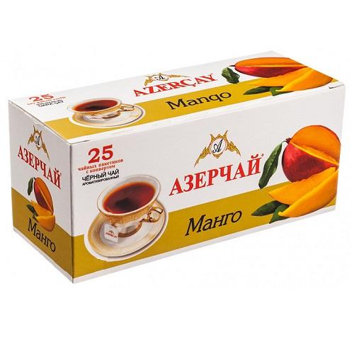 Чай Azercay черный с манго