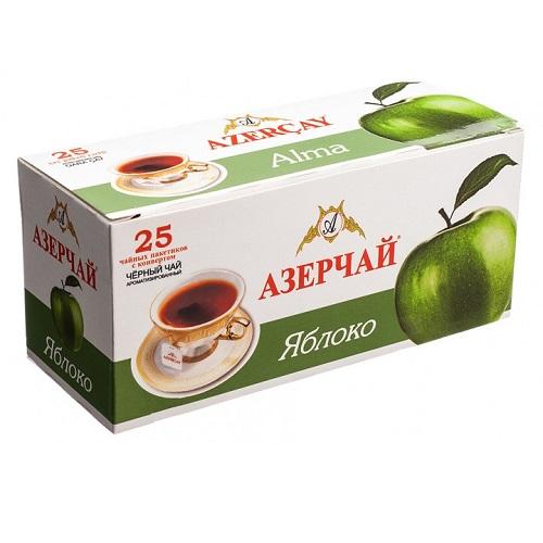 Чай Azercay черный с яблоком