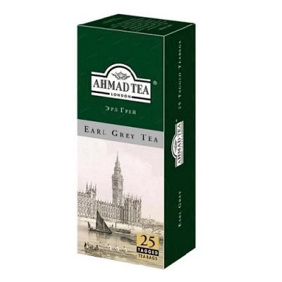 Ahmad Tea Earl Grey 25 пакетов