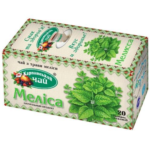 Чай Карпатский Мелисса 20 пакетов