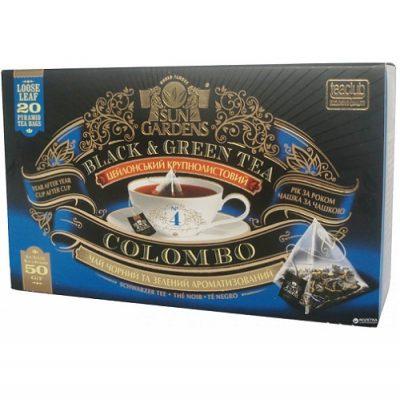 Чай Sun Gardens Коломбо Микс 20 пирамидок