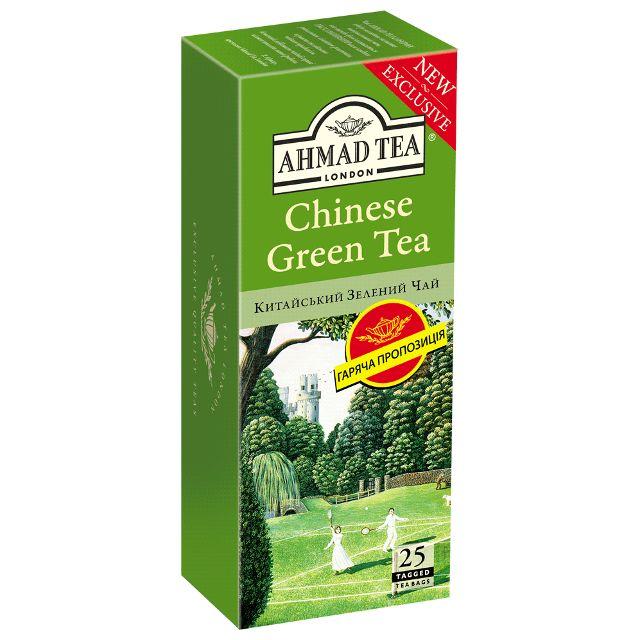 Ahmad Tea Chinese Green 25 пакетов