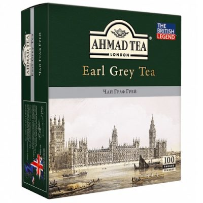 Ahmad Tea Earl Grey 100 пакетов