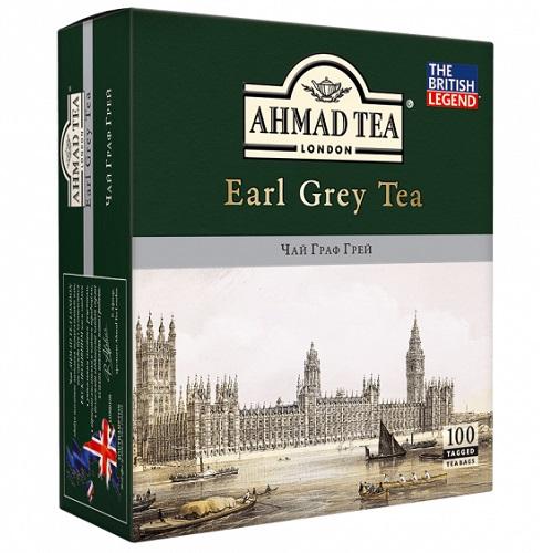 Ahmad Tea Earl Grey 100 пакетов