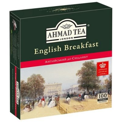 Ahmad Tea English Breakfast 100 пакетов