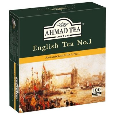 Ahmad Tea English Tea №1 100 пакетов