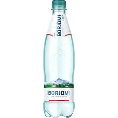 Вода BORJOMI 0,5л газированная пластик