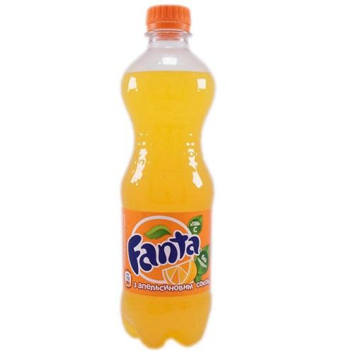 Напиток Fanta 0,5 л пластик