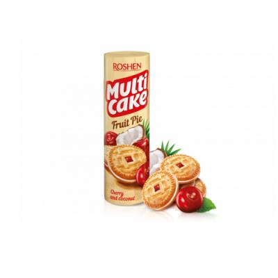 Печенье Рошен Multicake вишня-кокос 180 г