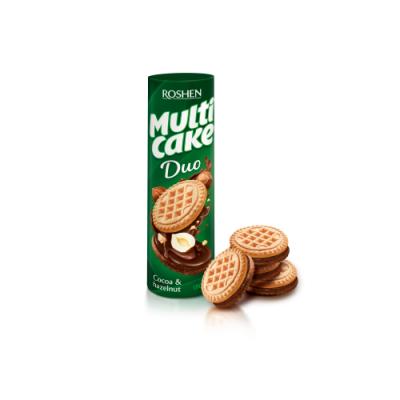 Печенье Рошен Multicake какао-орех 180 г