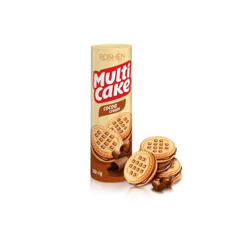 Печенье Рошен Multicake какао 180 г