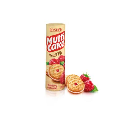 Печенье Рошен Multicake малина-крем 180 г