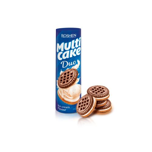 Печенье Рошен Multicake пломбир 180 г