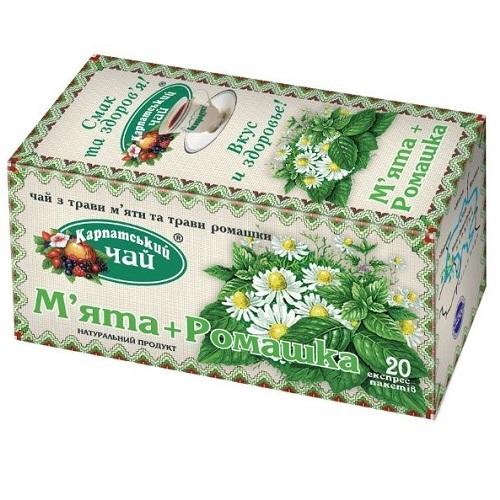 Чай Карпатский Мята Ромашка