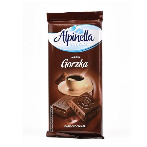 Шоколад темный Alpinella 90 г