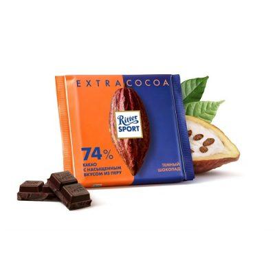 Шоколад темный Ritter Sport Перу 100 г