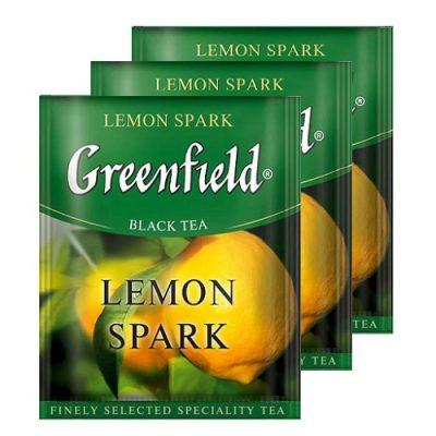 Greenfield Lemon Spark 100 пак му Horeca