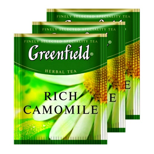 Greenfield Rich Camomile 100 пак му Horeca
