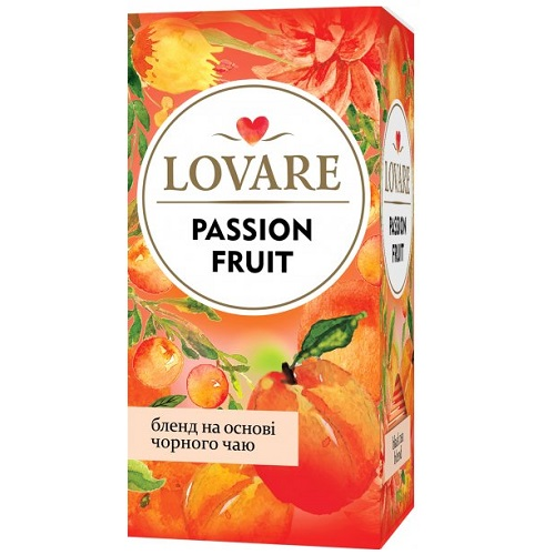 Чай Lovare Passion Fruit 24 пакетов
