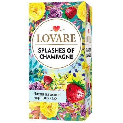 Чай Lovare Splashes of Champagne 24 пакетов